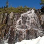 mount baker june day tour waterfall