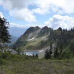Mount Baker Summer Guided Day Hike tarn