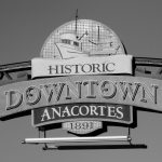 Anacortes Historical Tour - downtown sign
