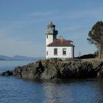 San Juan Islands Guided Tour - Lime Kiln lighthouse