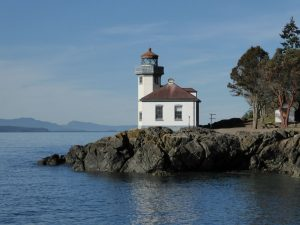san juan orcas island guided day tour - lime kiln point lighthouse