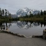 Mt Baker, Mt Rainier, Olympics Fall Guided Hikes picture lake