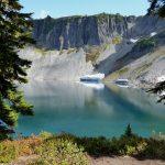 Mt Baker, Mt Rainier, Olympics Fall Guided Hiking alpine lake