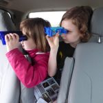Winter birding for kids - young birdwatchers