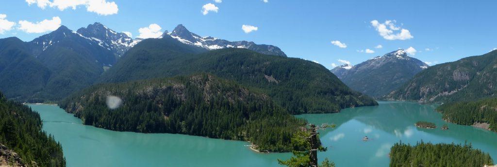north cascades national park day tour - Diablo Lake