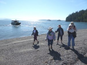 hiking san juan islands cypress hikers