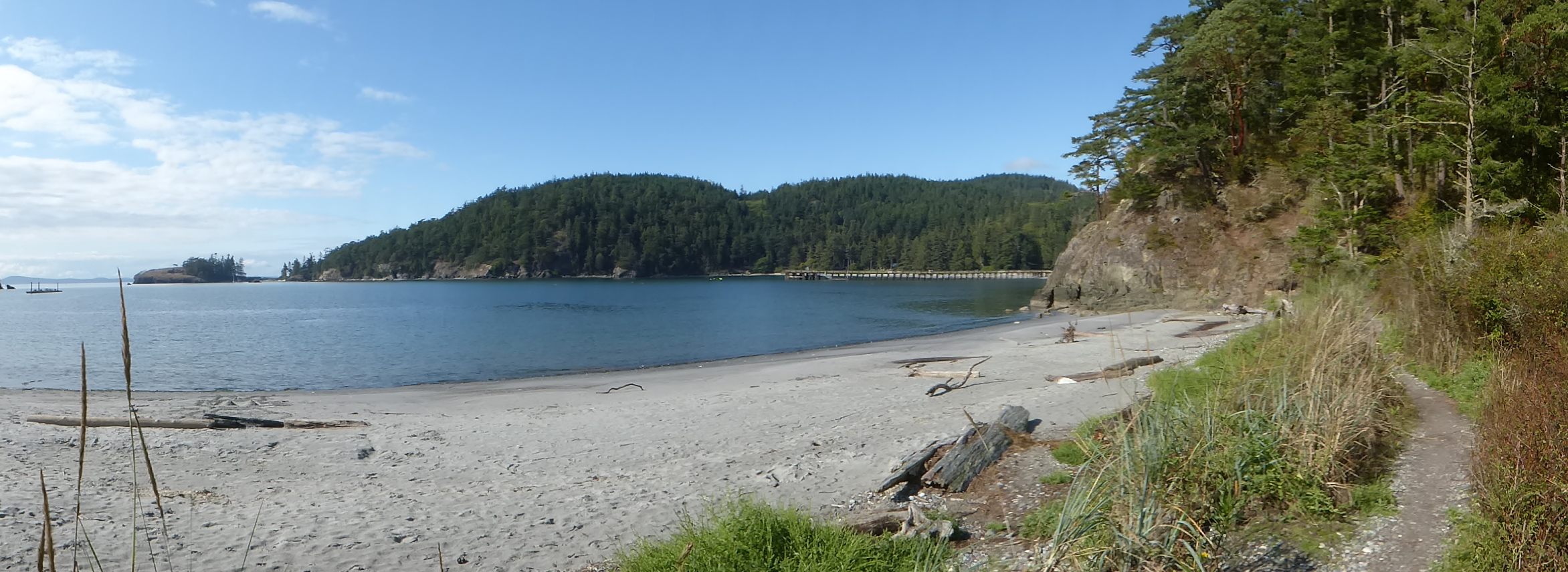 anacortes guided hikes - bowman bay deception pass state park