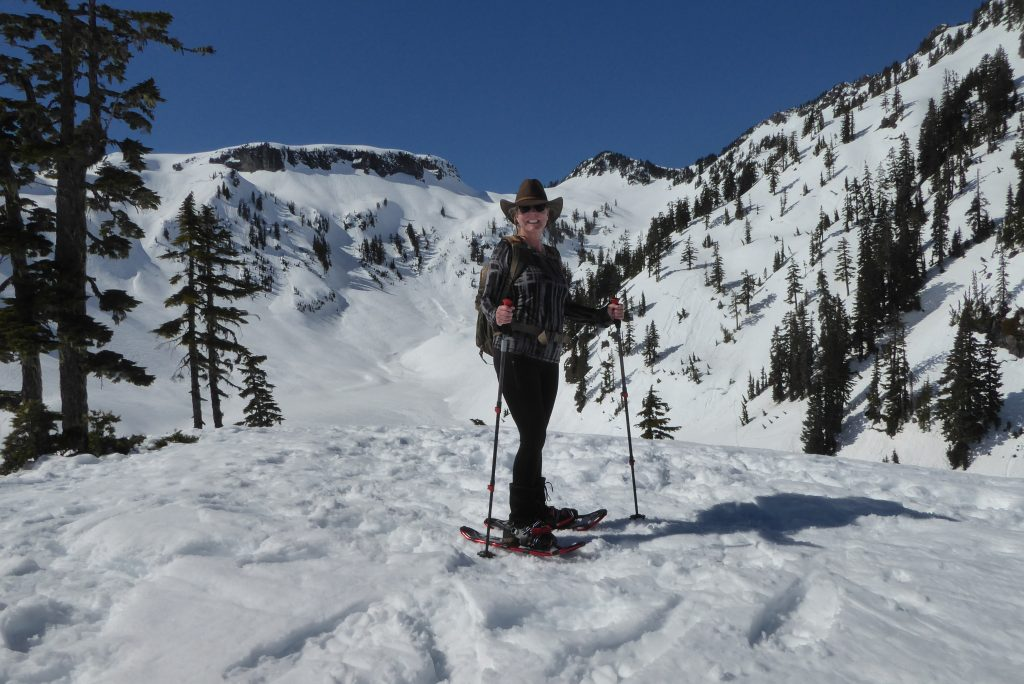north cascades guided snowshoeing small group adventures